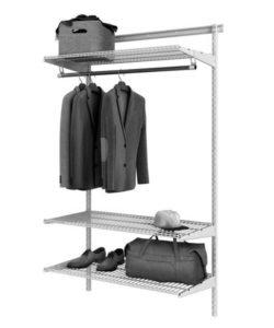 Гардеробная система ТИТАН GS-450S: купить в Москве по цене 3 657 руб | Интернет-магазин «Мебель Металлическая»