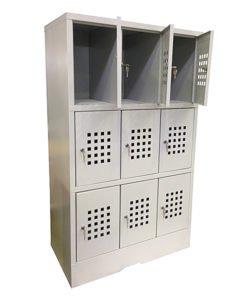 Шкаф для сумок ШС-9: купить в Москве по цене 13 600 руб | Интернет-магазин «Мебель Металлическая»