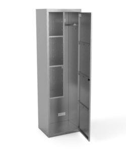 Шкаф для хозинвентаря из нержавейки: купить в Москве по цене 28 500 руб | Интернет-магазин «Мебель Металлическая»