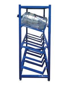 Стеллаж металлический для бутылей с водой СТВ-16: купить в Москве по цене 11 600 руб | Интернет-магазин «Мебель Металлическая»