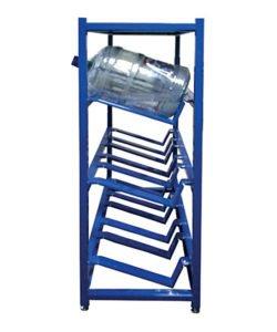 Стеллаж металлический для бутылей с водой СТВ-6: купить в Москве по цене 7 000 руб | Интернет-магазин «Мебель Металлическая»