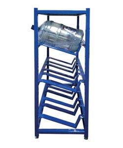 Стеллаж металлический для бутылей с водой СТВ-8: купить в Москве по цене 8 300 руб | Интернет-магазин «Мебель Металлическая»