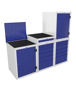Модуль тумб WS: купить в Москве по цене 92 855 руб | Интернет-магазин «Мебель Металлическая»