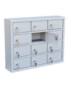 Шкаф для хранения сотовых телефонов ШДМ-12: купить в Москве по цене 13 500 руб | Интернет-магазин «Мебель Металлическая»