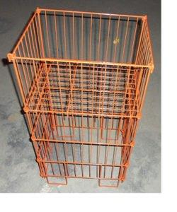 Корзина для распродаж WS034: купить в Москве по цене 840 руб | Интернет-магазин «Мебель Металлическая»