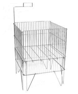 Корзина для распродаж WS044: купить в Москве по цене 2 438 руб | Интернет-магазин «Мебель Металлическая»