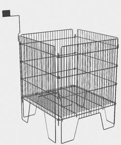 Корзина для распродаж WS066Z: купить в Москве по цене 2 990 руб | Интернет-магазин «Мебель Металлическая»