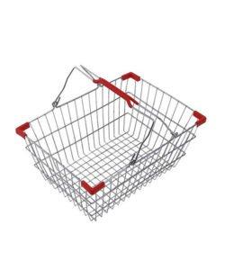 Корзина покупательская из металла SB10-CR: купить в Москве по цене 405 руб | Интернет-магазин «Мебель Металлическая»