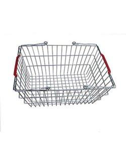 Корзина покупательская из металла SB20-CR: купить в Москве по цене 372 руб | Интернет-магазин «Мебель Металлическая»