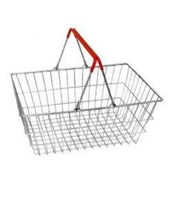 Корзина покупательская SB20-ZN-Budget: купить в Москве по цене 276 руб | Интернет-магазин «Мебель Металлическая»