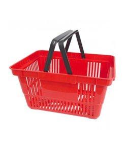 Корзина покупательская из пластика SBP20: купить в Москве по цене 160 руб | Интернет-магазин «Мебель Металлическая»
