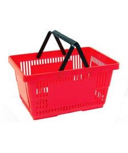 Корзина покупательская из пластика SBP27: купить в Москве по цене 434 руб | Интернет-магазин «Мебель Металлическая»