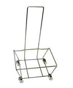 Подставка для корзин ВН-4 с ручкой: купить в Москве по цене 1 880 руб | Интернет-магазин «Мебель Металлическая»