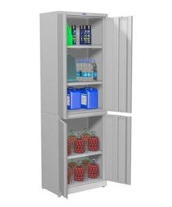 Шкаф балконный 1806: купить в Москве по цене 10 197 руб | Интернет-магазин «Мебель Металлическая»