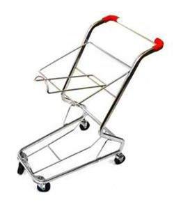 Тележка-подставка для корзин ТВF6-RD: купить в Москве по цене 2 880 руб | Интернет-магазин «Мебель Металлическая»