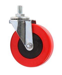 Поворотное колесо для покупательской тележки 4PVC1B: купить в Москве по цене 0 руб | Интернет-магазин «Мебель Металлическая»