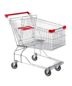 Тележка покупательская STA060-BX: купить в Москве по цене 3 138 руб | Интернет-магазин «Мебель Металлическая»