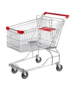 Тележка покупательская STA060-BX-MALL: купить в Москве по цене 4 801 руб | Интернет-магазин «Мебель Металлическая»