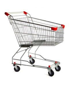 Тележка покупательская STA060-XX: купить в Москве по цене 2 987 руб | Интернет-магазин «Мебель Металлическая»