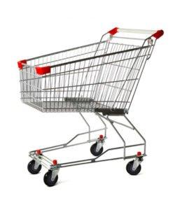 Тележка покупательская STA060-XX-MALL: купить в Москве по цене 4 495 руб | Интернет-магазин «Мебель Металлическая»
