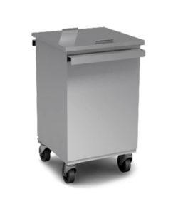 Бак для мусора 650*400*600 на колесах с крышкой: купить в Москве по цене 19 700 руб | Интернет-магазин «Мебель Металлическая»