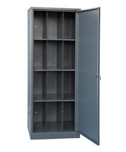 Шкаф для противогазов на 12 ячеек: купить в Москве по цене 17 500 руб | Интернет-магазин «Мебель Металлическая»