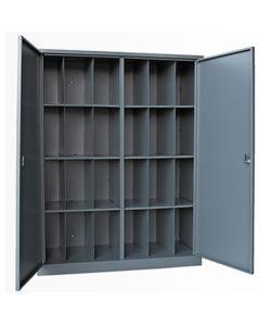Шкаф для противогазов на 24 ячейки (две двери): купить в Москве по цене 28 000 руб   Интернет-магазин «Мебель Металлическая»