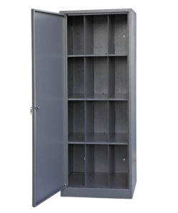 Шкаф ШПГ-12 для противогазов на 12 ячеек: купить в Москве по цене 17 500 руб | Интернет-магазин «Мебель Металлическая»