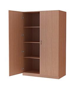 Шкаф хозяйственный (ЛДСП): купить в Москве по цене 10 692 руб | Интернет-магазин «Мебель Металлическая»