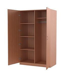 Шкаф платяной двухстворчатый: купить в Москве по цене 7 286 руб | Интернет-магазин «Мебель Металлическая»