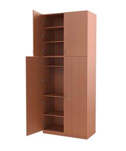 Шкаф универсальный для хранения имущества роты и личных вещей: купить в Москве по цене 14 365 руб | Интернет-магазин «Мебель Металлическая»