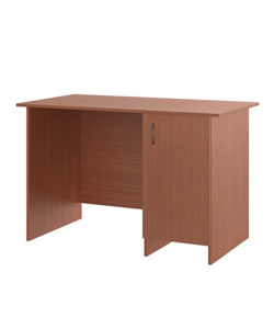 Стол письменный однотумбовый (с дверкой): купить в Москве по цене 3 409 руб | Интернет-магазин «Мебель Металлическая»