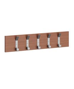 Вешалка настенная на 5 крючков: купить в Москве по цене 640 руб | Интернет-магазин «Мебель Металлическая»