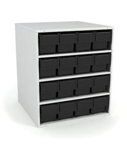 Кассетница стационарная К-01/1 ESD: купить в Москве по цене 12 000 руб | Интернет-магазин «Мебель Металлическая»
