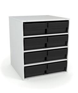Кассетница стационарная К-01/2 ESD: купить в Москве по цене 15 500 руб | Интернет-магазин «Мебель Металлическая»