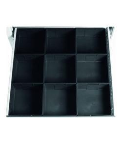 Лоток кубический ЛК-09 ESD (9 шт.): купить в Москве по цене 2 010 руб | Интернет-магазин «Мебель Металлическая»