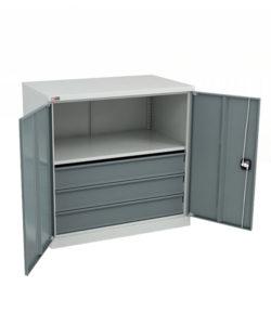 Шкаф ВЛ-051-03 ESD: купить в Москве по цене 25 510 руб | Интернет-магазин «Мебель Металлическая»