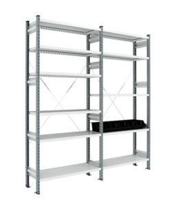 Стеллаж полочный СТ-031 ESD: купить в Москве по цене 7 498 руб | Интернет-магазин «Мебель Металлическая»