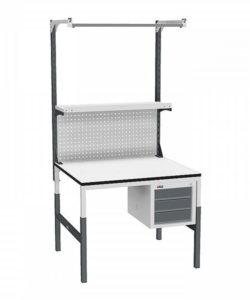 Стол монтажный СР-М-100-03 ESD: купить в Москве по цене 20 220 руб | Интернет-магазин «Мебель Металлическая»