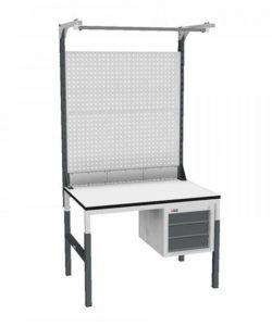 Стол монтажный СР-М-100-04 ESD: купить в Москве по цене 22 480 руб | Интернет-магазин «Мебель Металлическая»