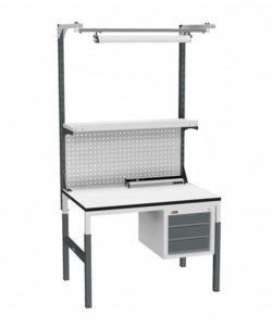 Стол монтажный СР-М-100-05 ESD: купить в Москве по цене 30 940 руб | Интернет-магазин «Мебель Металлическая»