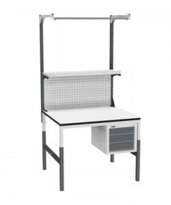 Стол монтажный СР-М-100/90-03 ESD: купить в Москве по цене 20 620 руб | Интернет-магазин «Мебель Металлическая»