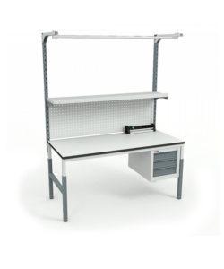 Стол монтажный СР-М-150-03 ESD: купить в Москве по цене 22 880 руб | Интернет-магазин «Мебель Металлическая»