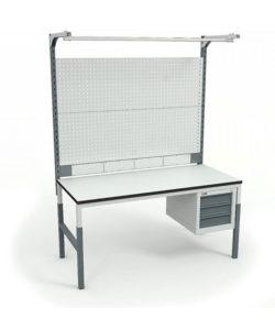 Стол монтажный СР-М-150-04 ESD: купить в Москве по цене 26 310 руб | Интернет-магазин «Мебель Металлическая»
