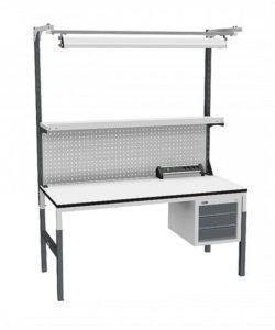 Стол монтажный СР-М-150-05 ESD: купить в Москве по цене 36 650 руб | Интернет-магазин «Мебель Металлическая»