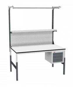 Стол монтажный СР-М-150/90-03 ESD: купить в Москве по цене 23 580 руб | Интернет-магазин «Мебель Металлическая»