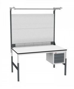 Стол монтажный СР-М-150/90-04 ESD: купить в Москве по цене 27 010 руб | Интернет-магазин «Мебель Металлическая»