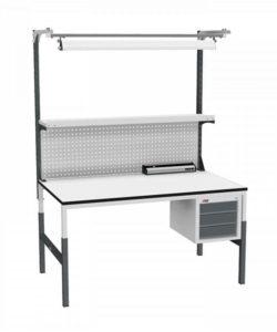 Стол монтажный СР-М-150/90-05 ESD: купить в Москве по цене 37 350 руб | Интернет-магазин «Мебель Металлическая»