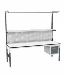 Стол монтажный СР-М-200-03 ESD: купить в Москве по цене 24 680 руб | Интернет-магазин «Мебель Металлическая»