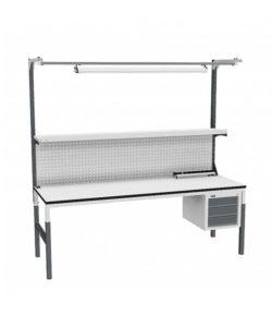 Стол монтажный СР-М-200-05 ESD: купить в Москве по цене 38 450 руб | Интернет-магазин «Мебель Металлическая»